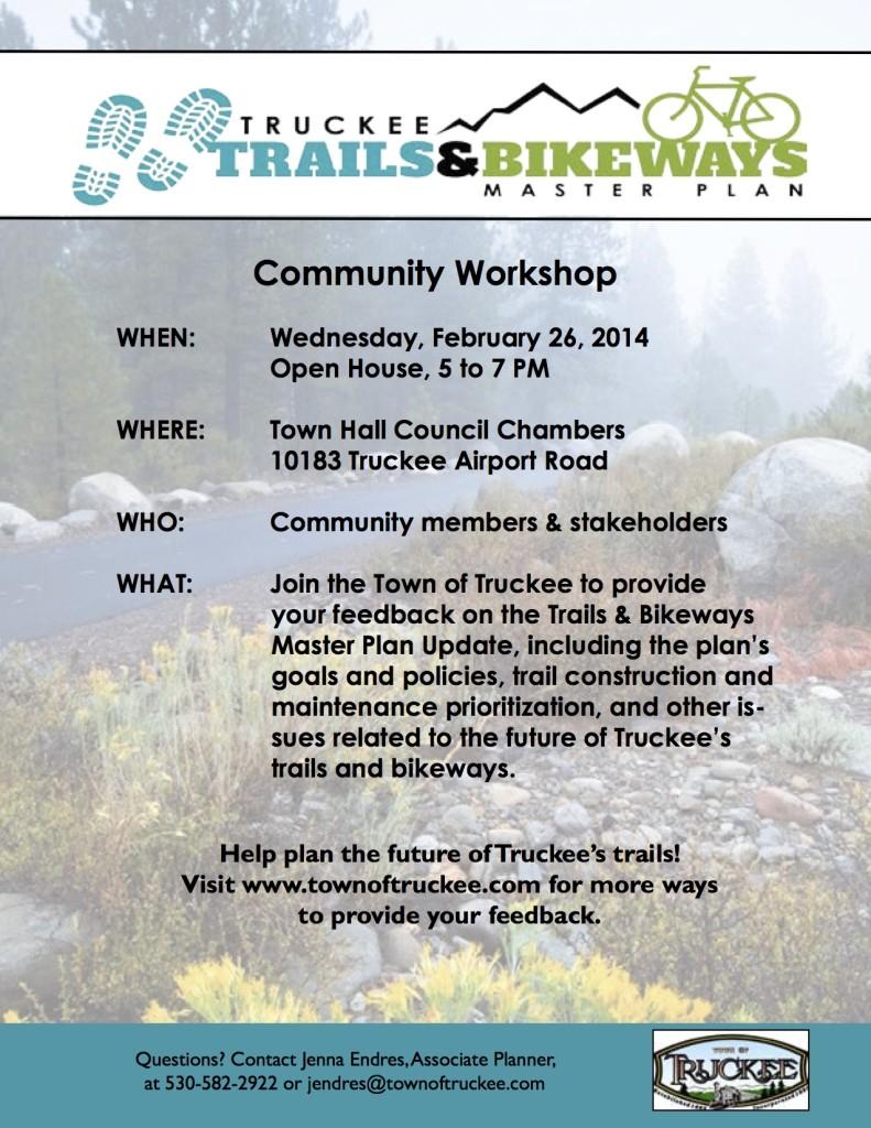 Trails Public Workshop