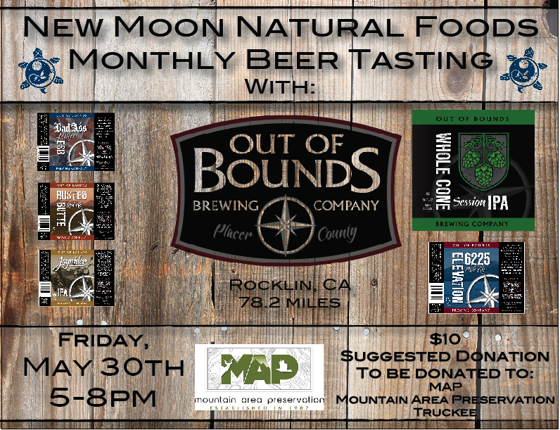 New Moon Beer Tasting Event-May 30th, 2014